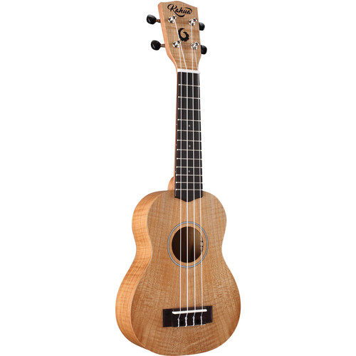 "Kohala Tycoon Series 21"" Flamed Maple Soprano Ukulele (Matte Finish)"