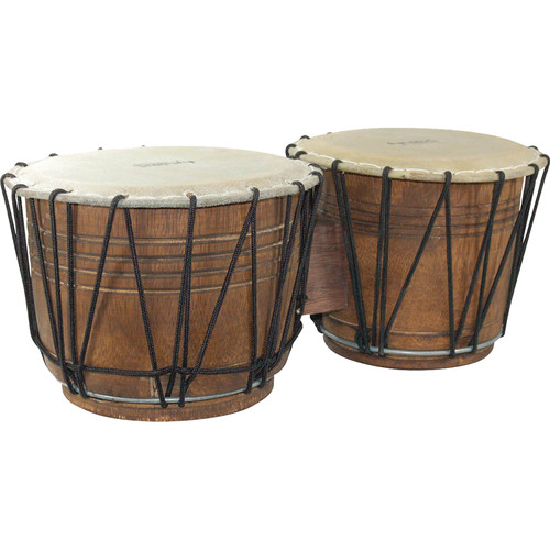 Tycoon Percussion Ethnic Drums Rope-Tuned Bongos