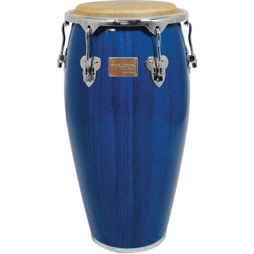 "Tycoon Percussion 11.75"" Master Classic Series Conga (Blue)"
