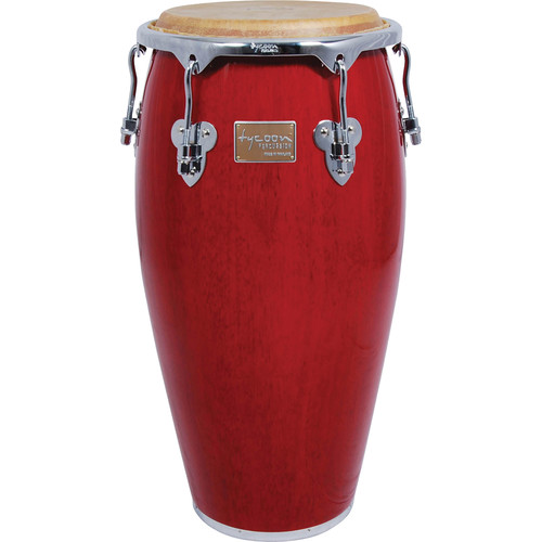 "Tycoon Percussion 11.75"" Master Classic Series Conga (Red)"