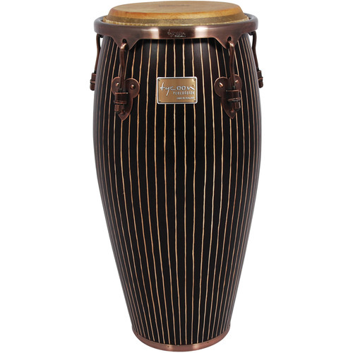 "Tycoon Percussion 11"" Master Handcrafted Series Quinto (Pinstripe)"