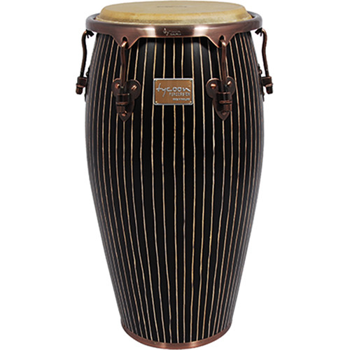 "Tycoon Percussion Master Series Hand-Crafted Original 11"" Conga with Copper Hardware"