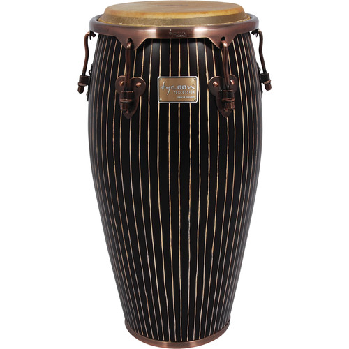 "Tycoon Percussion 11.75"" Master Handcrafted Series Conga (Pinstripe)"