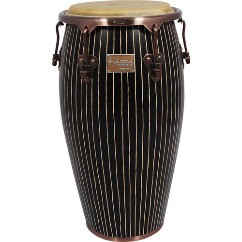 "Tycoon Percussion 12.5"" Master Handcrafted Series Tumba (Pinstripe)"