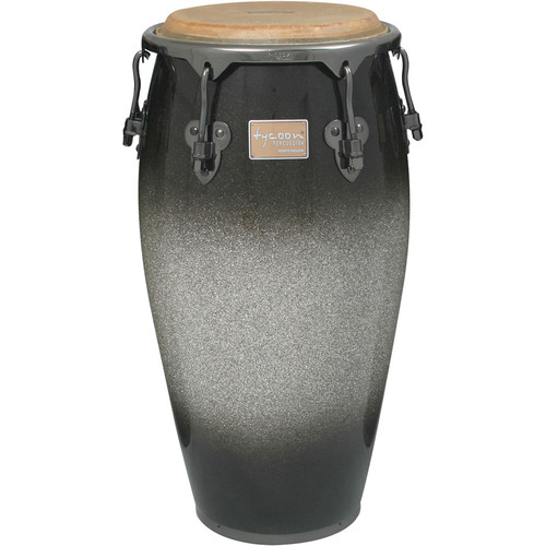 "Tycoon Percussion 11.75"" Platinum Fade Series Conga"