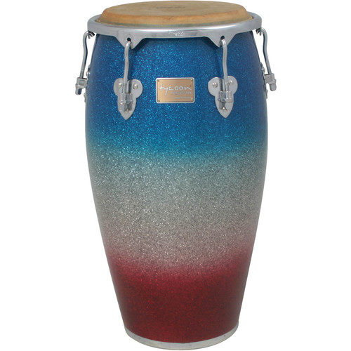 "Tycoon Percussion 12.5"" Platinum Tri-Fade Series Tumba"