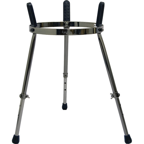 """Tycoon Percussion 11.75"""" Master Series Single Conga Stand (Black Pearl)"""