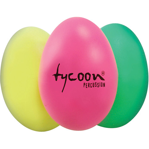 Tycoon Percussion Triple Egg Shaker