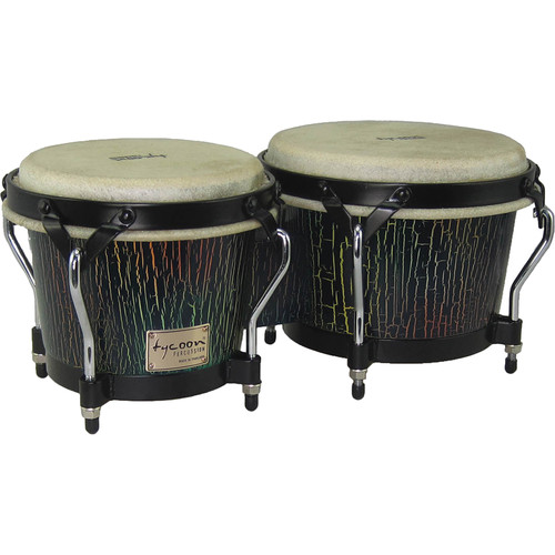"Tycoon Percussion 7"" & 8.5"" Supremo Series Bongo Set (Dark Iris)"