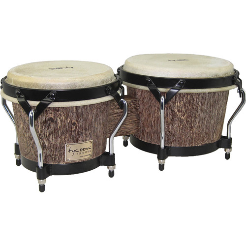 "Tycoon Percussion 7"" & 8.5"" Supremo Series Bongo Set (Island Palm)"
