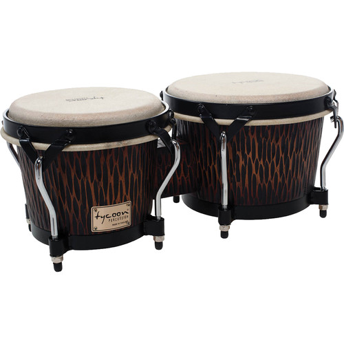 "Tycoon Percussion 7"" & 8.5"" Supremo Series Bongo Set (Chiseled Orange)"
