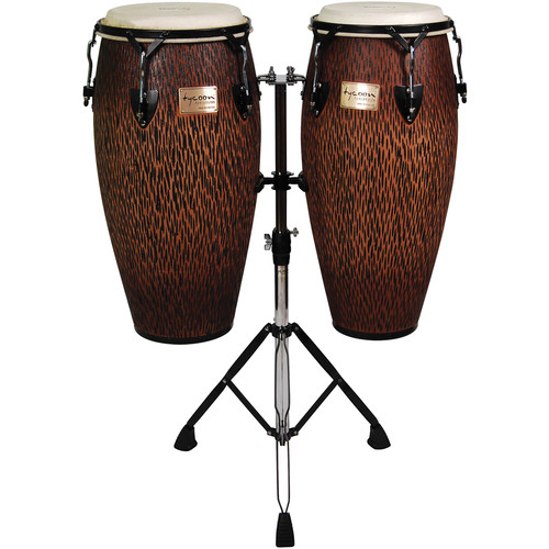 "Tycoon Percussion 10"" & 11"" Supremo Series Select Congas (Chiseled Orange)"