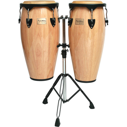 "Tycoon Percussion 10"" & 11"" Supremo Series Congas (Natural)"