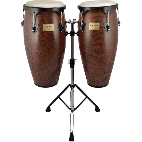 "Tycoon Percussion 10"" & 11"" Supremo Series Congas (Marble)"