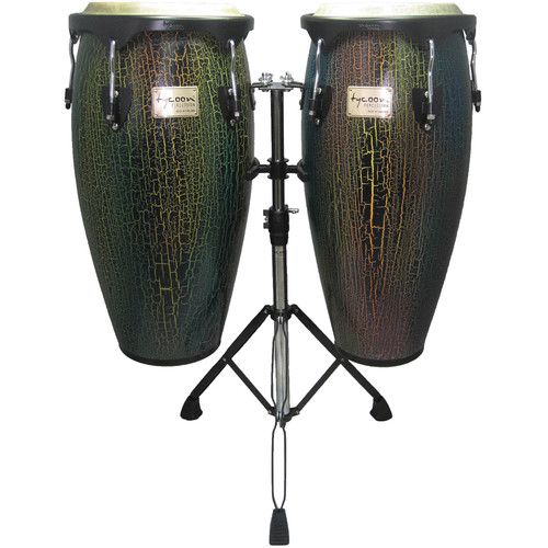 "Tycoon Percussion 10"" & 11"" Supremo Series Select Congas (Dark Iris)"