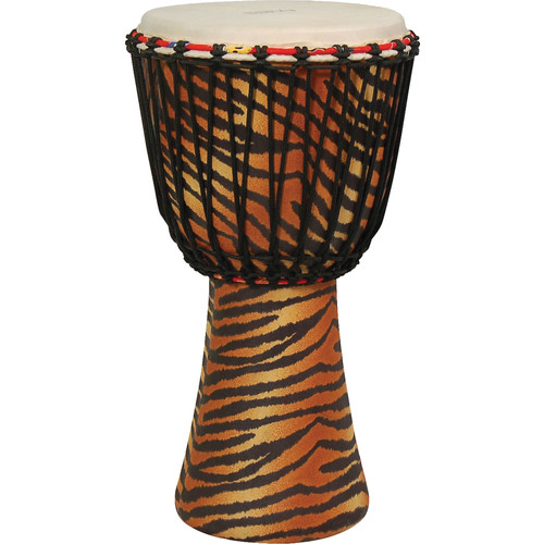 Tycoon Percussion Master Fantasy African Djembe (Tiger)