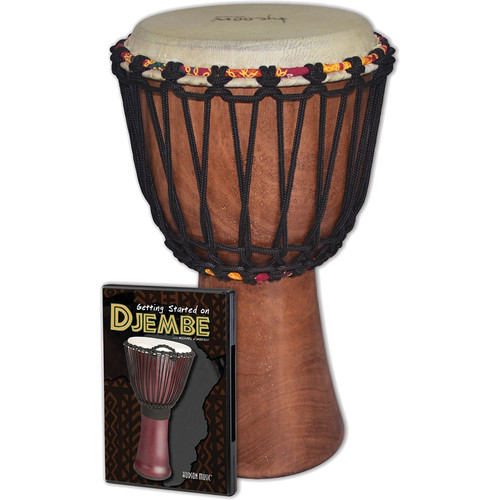 Tycoon Percussion Djembe Instrument Starter Kit