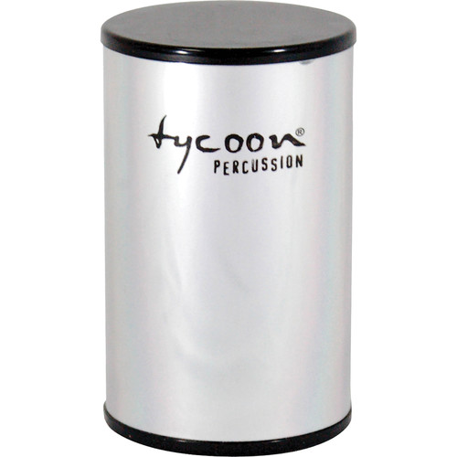 "Tycoon Percussion 3"" Aluminum Shaker (Chrome-plated Shell)"