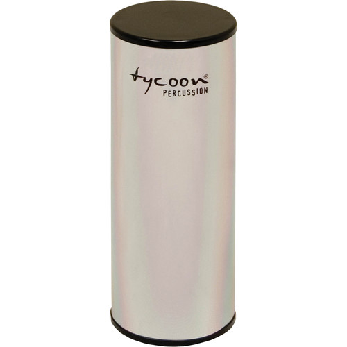 "Tycoon Percussion 5"" Aluminum Shaker (Chrome-plated Shell)"
