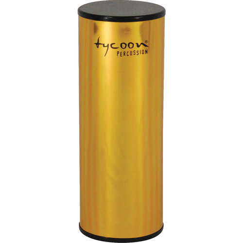"Tycoon Percussion 5"" Aluminum Shaker (Gold-plated Shell)"
