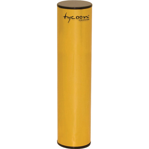 "Tycoon Percussion 8"" Aluminum Shaker (Gold-plated Shell)"