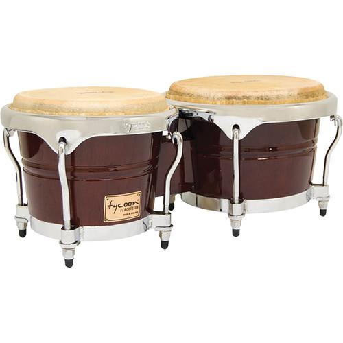 "Tycoon Percussion 7"" & 8.5"" Concerto Series Bongo Set (Mahogany)"