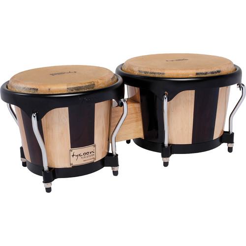 "Tycoon Percussion 7"" & 8.5"" Artist Series Bongo Set (Retro)"