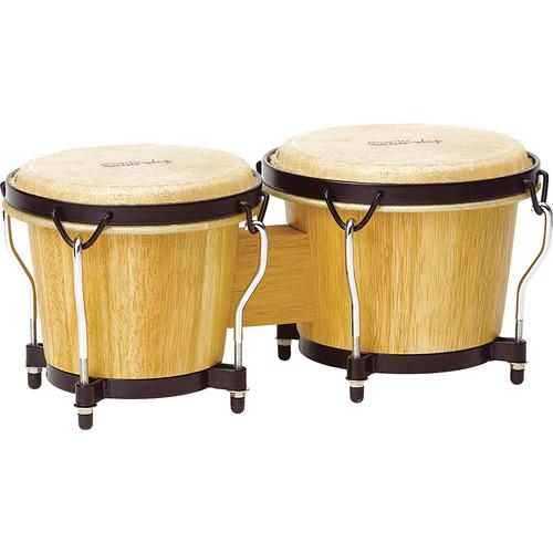 "Tycoon Percussion 6"" & 7"" Ritmo Bongo Set (Natural)"