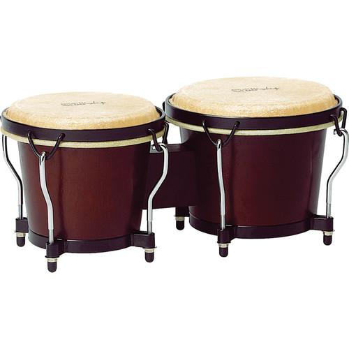 """Tycoon Percussion 6"""" & 7"""" Ritmo Bongo Set (Mahogany)"""