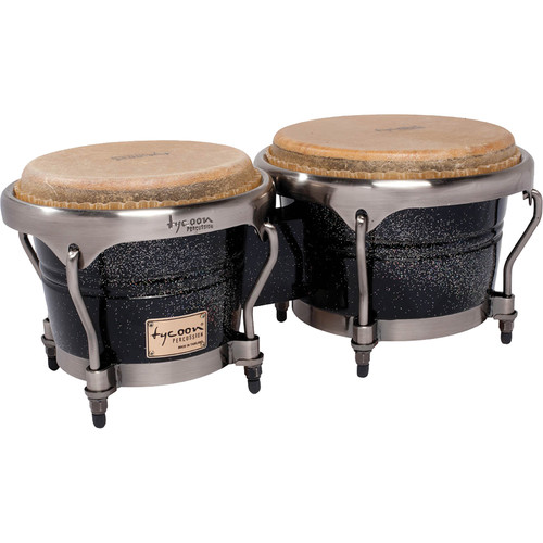 "Tycoon Percussion 7"" & 8.5"" Master Series Bongo Set (Diamond)"