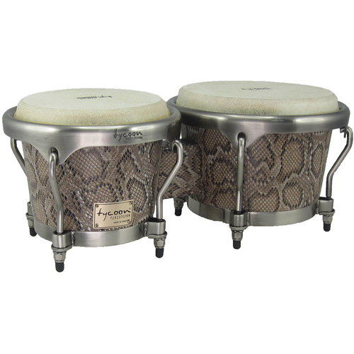 "Tycoon Percussion 7"" & 8.5"" Master Series Bongo Set (Boa)"