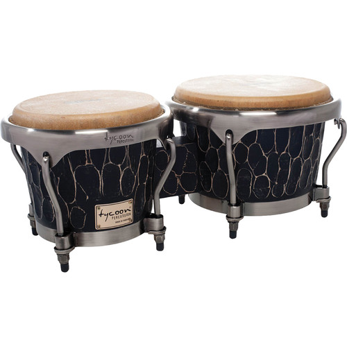 "Tycoon Percussion 7"" & 8.5"" Master Hand-Crafted Bongo Set (Original)"