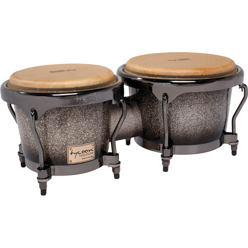 "Tycoon Percussion 7"" & 8.5"" Master Series Bongo Set (Platinum Fade)"