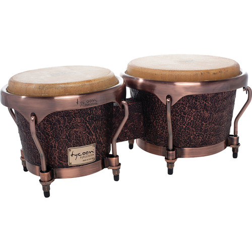 "Tycoon Percussion 7"" & 8.5"" Master Series Bongo Set (Terra-Cotta)"