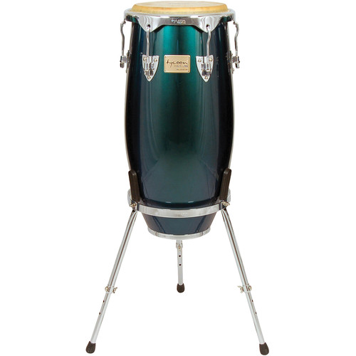 """Tycoon Percussion 11"""" Concerto Spectrum Series Quinto (Green)"""