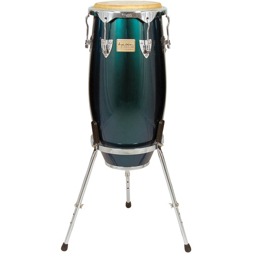 "Tycoon Percussion 11.75"" Concerto Spectrum Series Conga (Green)"