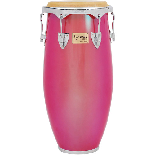 "Tycoon Percussion 11.75"" Concerto Red Pearl Series Conga"