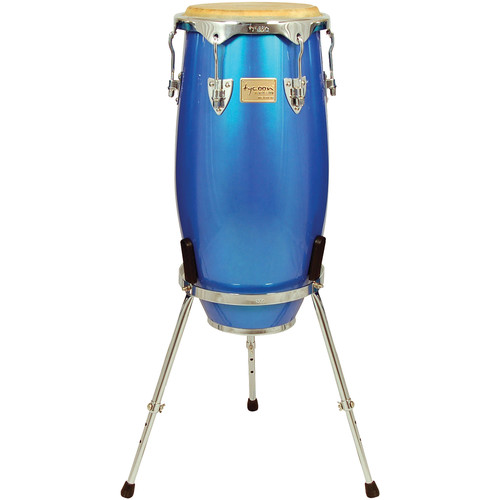 "Tycoon Percussion 12.5"" Concerto Spectrum Series Tumba (Blue)"