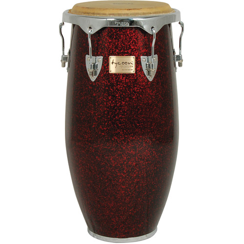 "Tycoon Percussion 12.5"" Concerto Red Pearl Series Tumba"