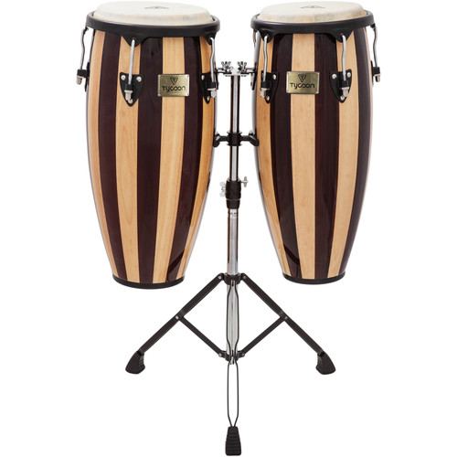 "Tycoon Percussion 10 & 11"" Artist Series Congas (Retro)"