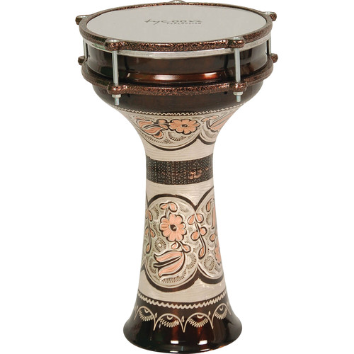 "Tycoon Percussion 14"" Turkish Copper Series Darbuka"