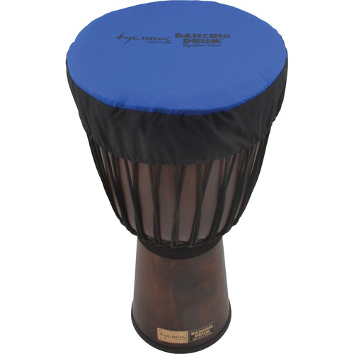 """Tycoon Percussion Dancing Drum Djembe Hat (11"""", Blue)"""