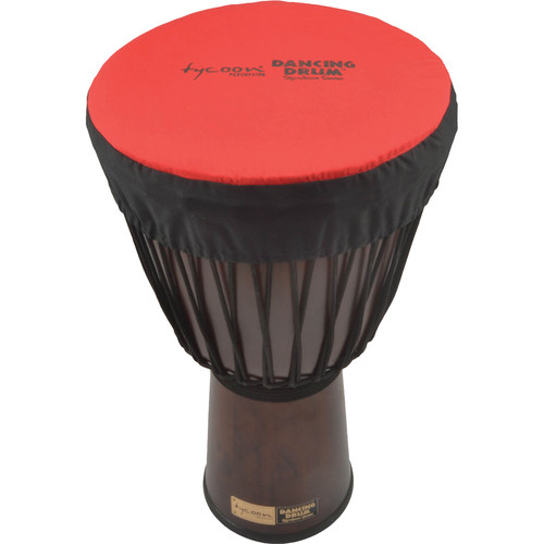"Tycoon Percussion Dancing Drum Djembe Hat (13"", Red)"