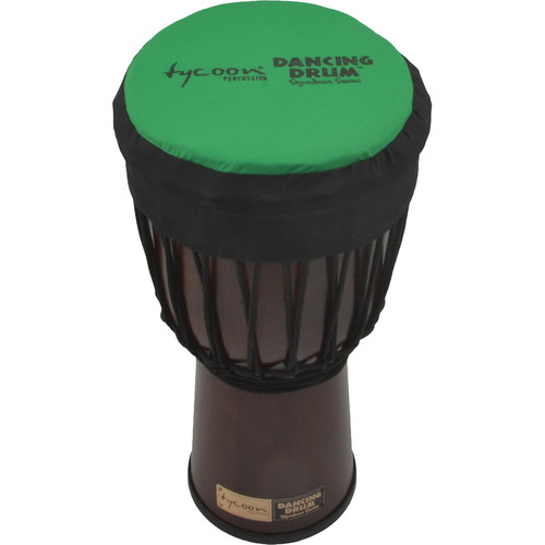 "Tycoon Percussion Dancing Drum Djembe Hat (9"", Green)"