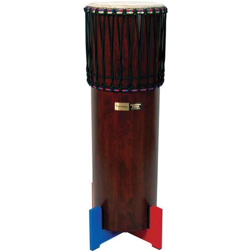 "Tycoon Percussion 42"" Dark Wood Ngoma Drum"