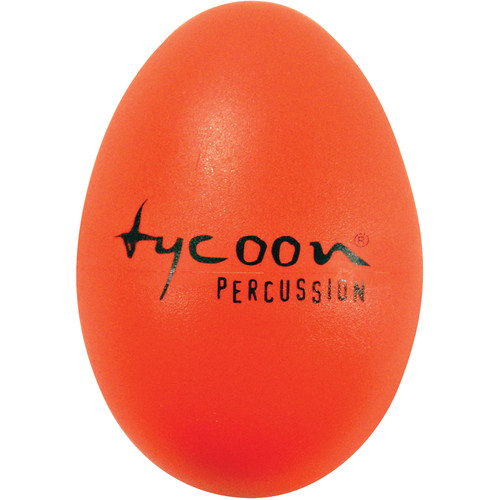 Tycoon Percussion Standard Plastic Egg Shakers (Orange)