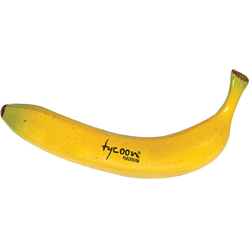 Tycoon Percussion Fruit Shaker (Banana)