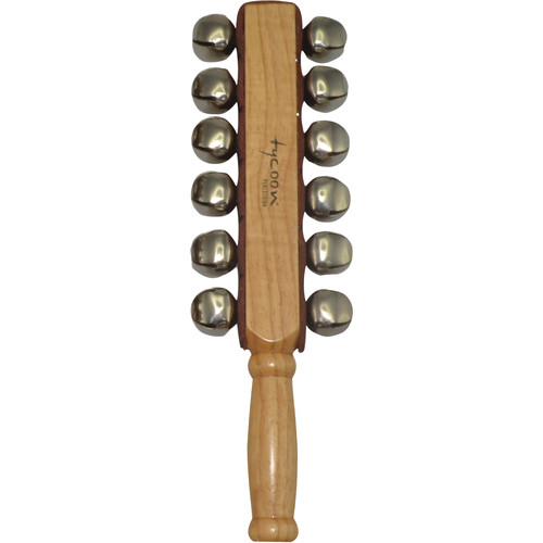 Tycoon Percussion 2-Row Sleigh Bell