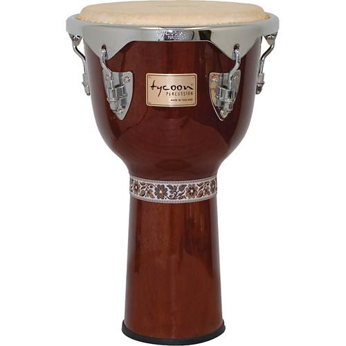 """Tycoon Percussion 12"""" Concerto Series Djembe (Mahogany)"""