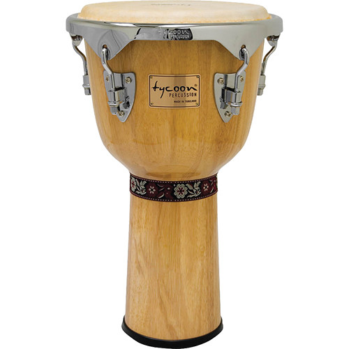 "Tycoon Percussion 12"" Concerto Series Djembe (Natural)"